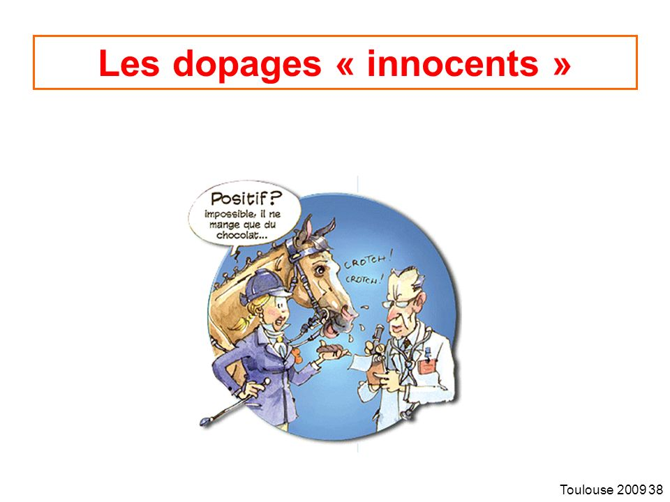 Les dopages « innocents »