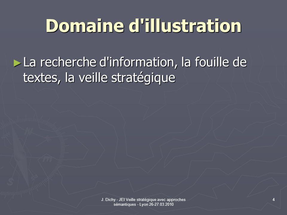 Domaine d illustration