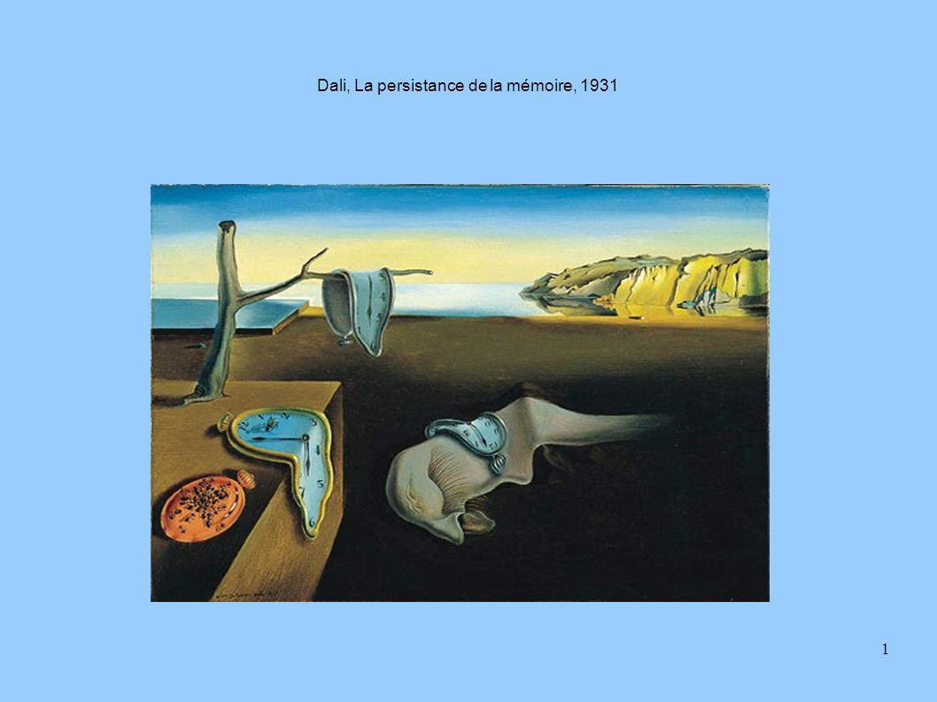 Dali, La persistance de la mémoire, 1931