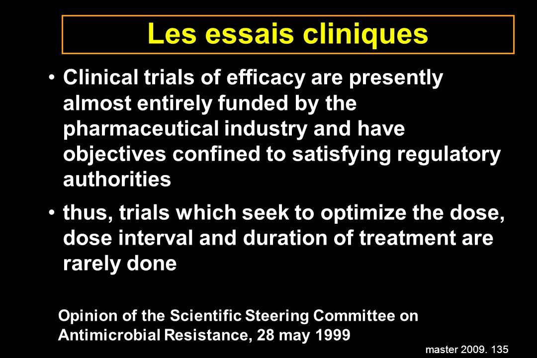 Les essais cliniques