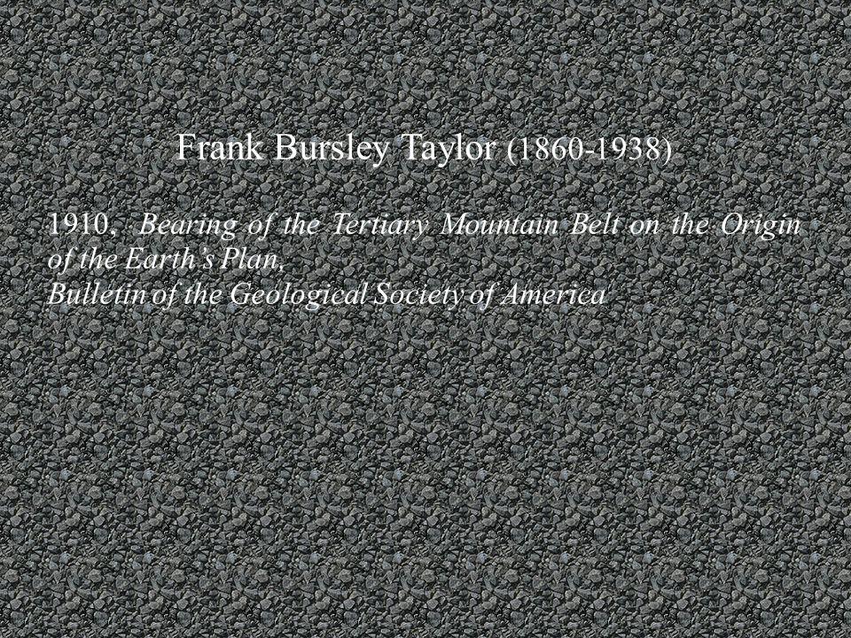 Frank Bursley Taylor (1860-1938)