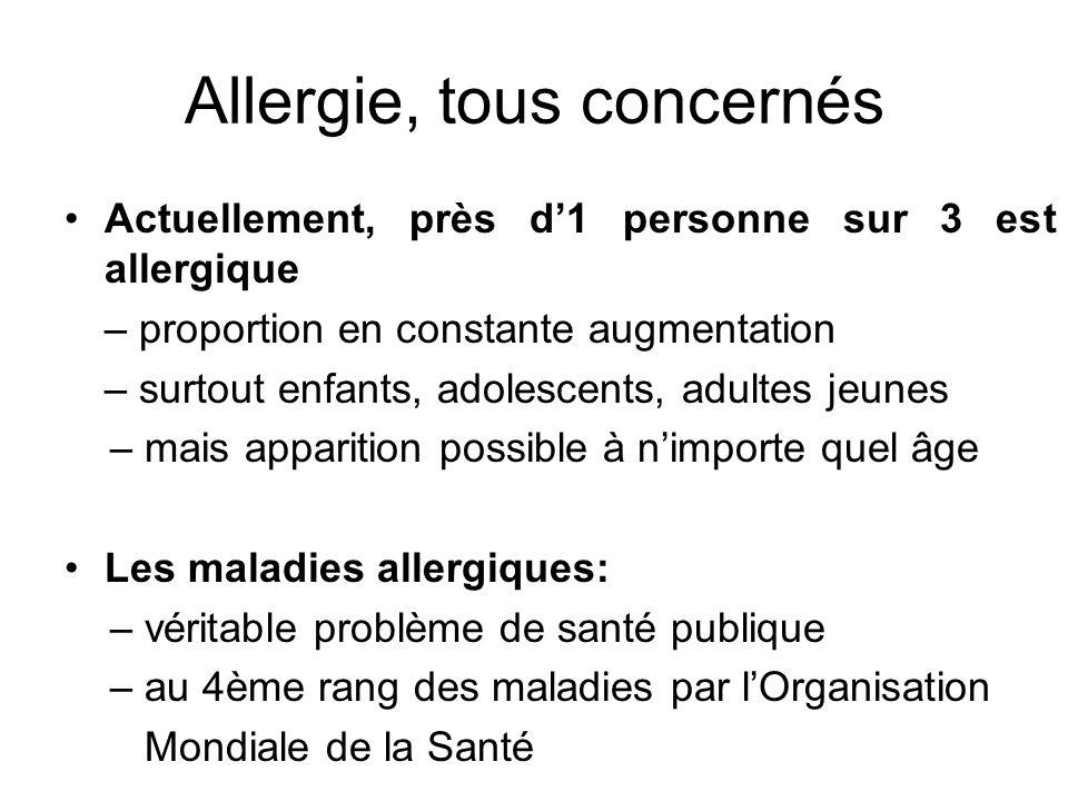 Allergie, tous concernés