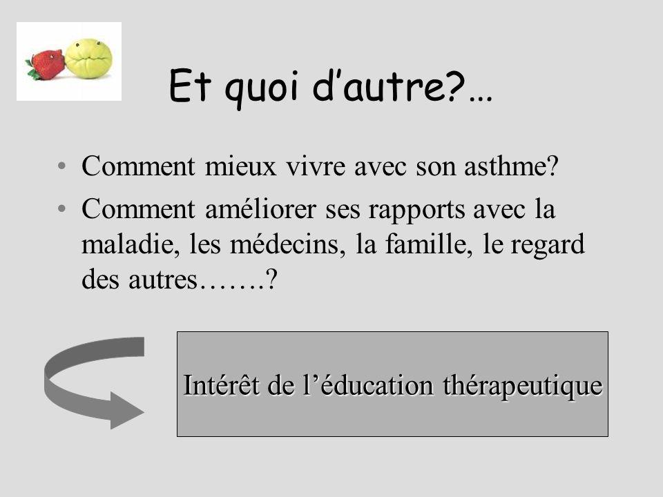 Intérêt de l'éducation thérapeutique