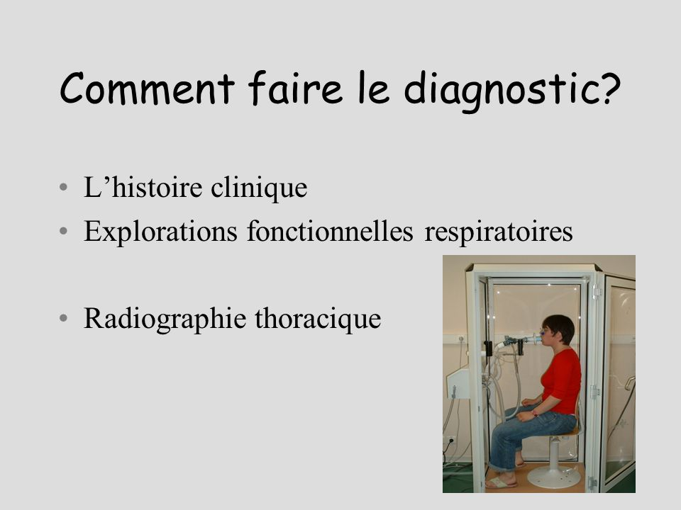 Comment faire le diagnostic