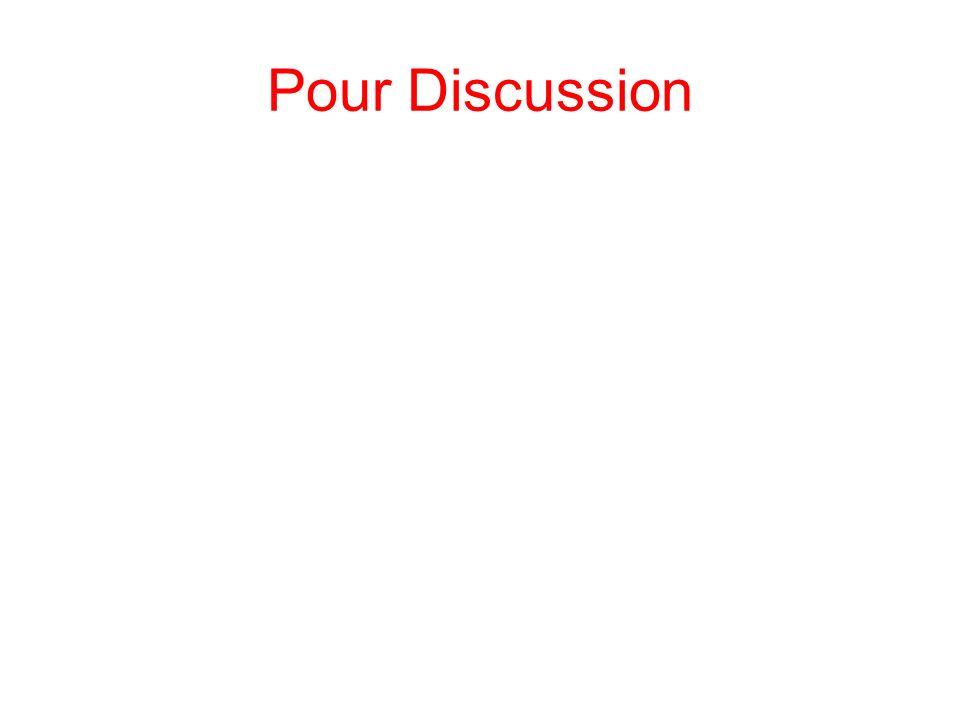 Pour Discussion