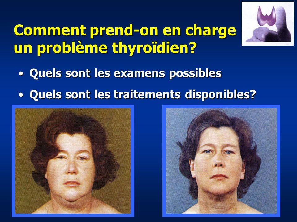 Comment prend-on en charge un problème thyroïdien