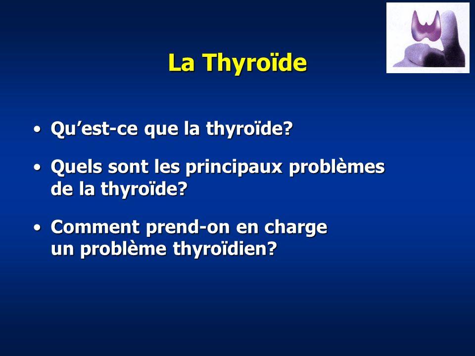 La Thyroïde Qu'est-ce que la thyroïde