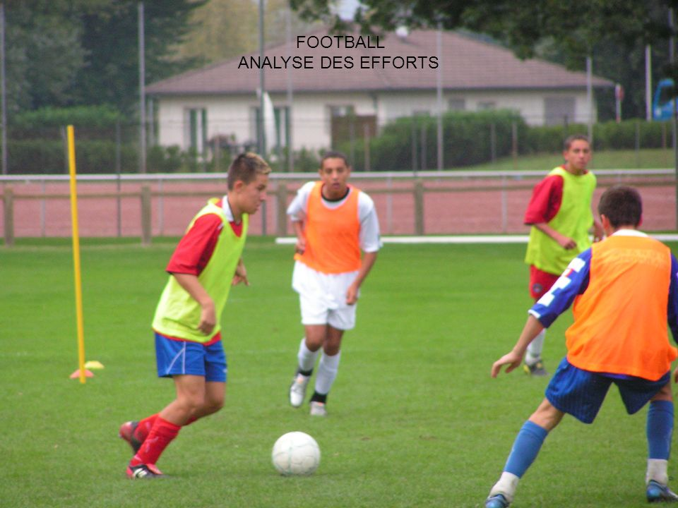FOOTBALL ANALYSE DES EFFORTS