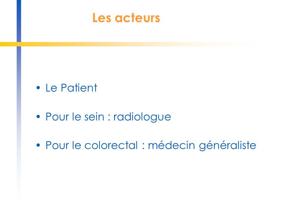 Les acteurs Le Patient Pour le sein : radiologue