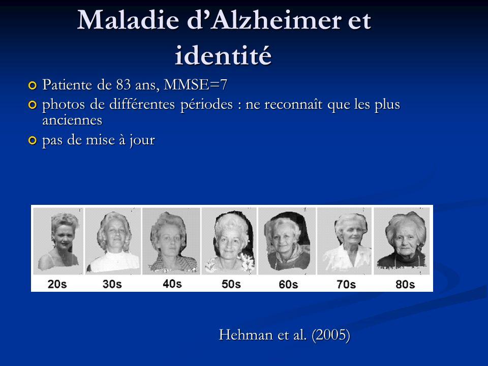 Maladie d'Alzheimer et identité