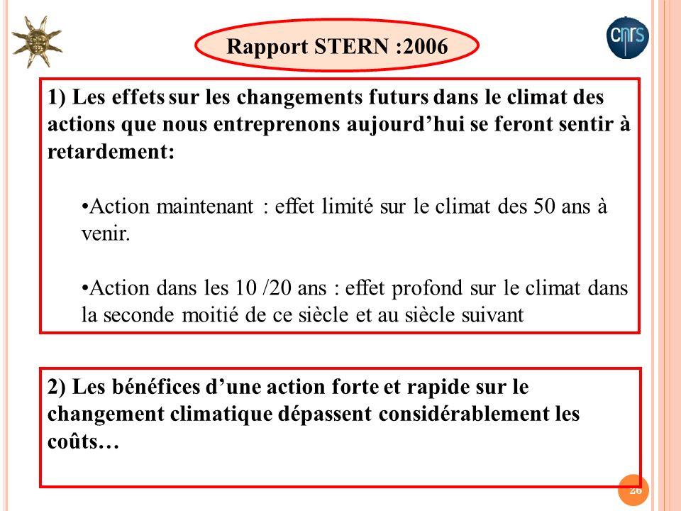 Rapport STERN :2006