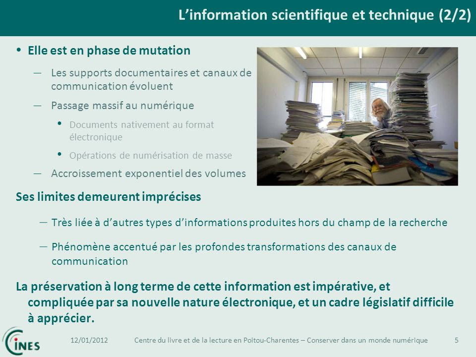 L'information scientifique et technique (2/2)