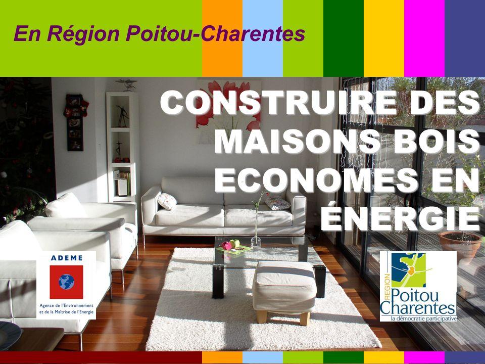 CONSTRUIRE DES MAISONS BOIS ECONOMES EN ÉNERGIE