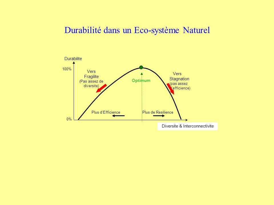 Durabilité dans un Eco-système Naturel