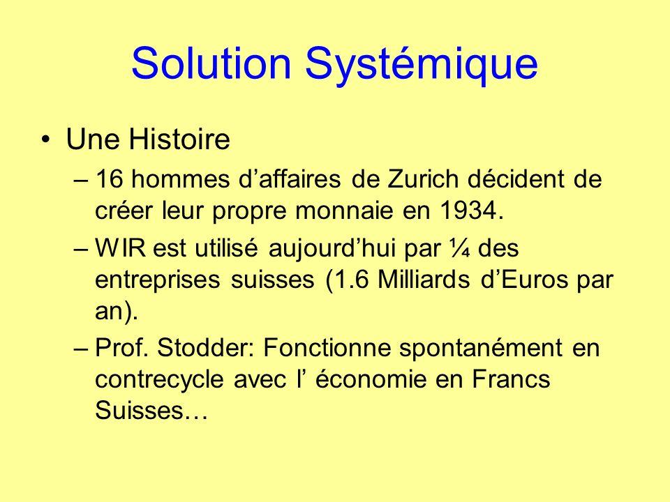 Solution Systémique Une Histoire