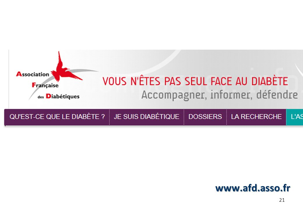 www.afd.asso.fr 21 21