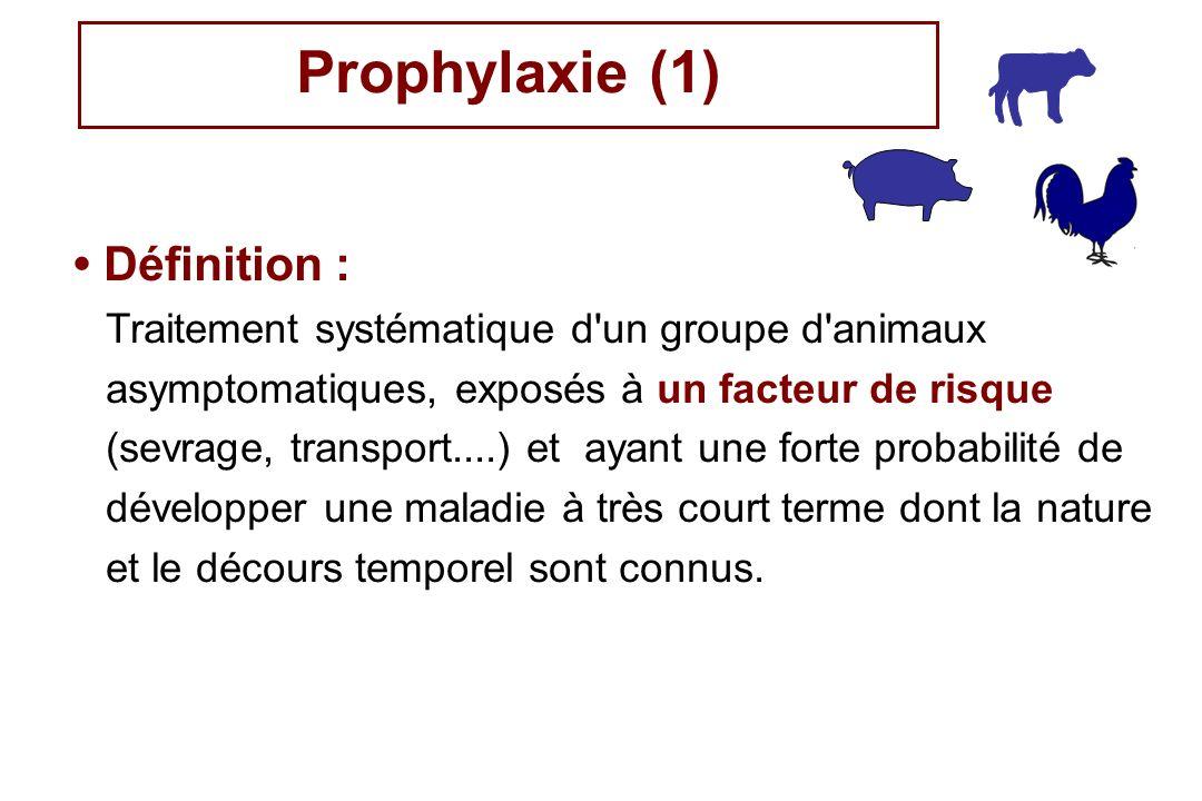 Prophylaxie (1) • Définition :