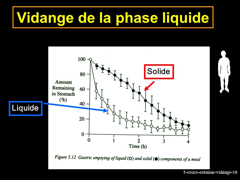 Vidange de la phase liquide