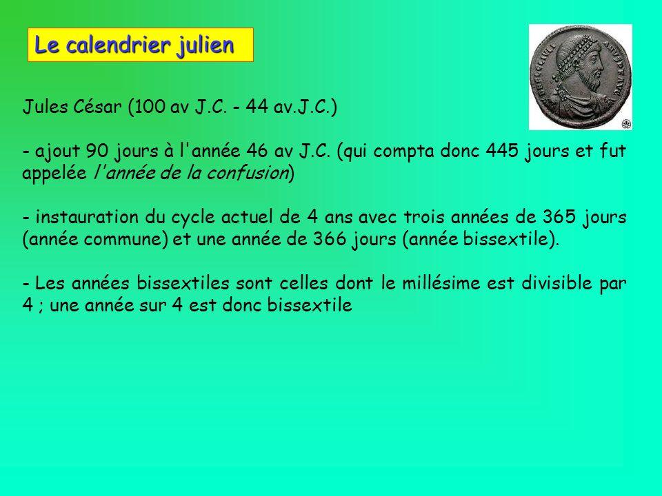 Jules César (100 av J.C. - 44 av.J.C.)