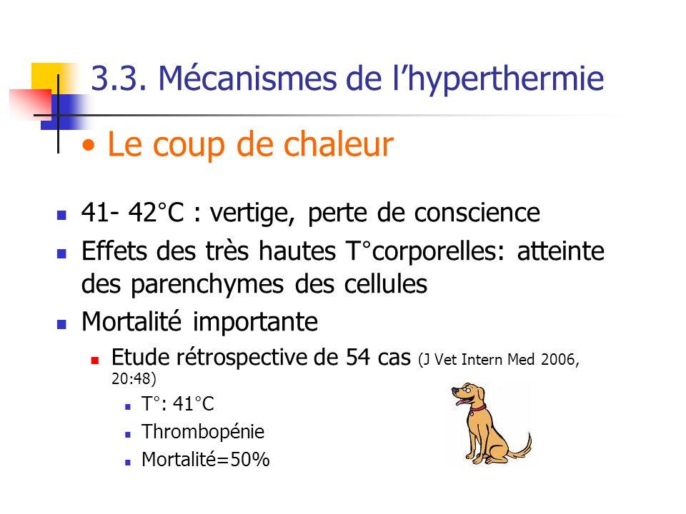 3.3. Mécanismes de l'hyperthermie