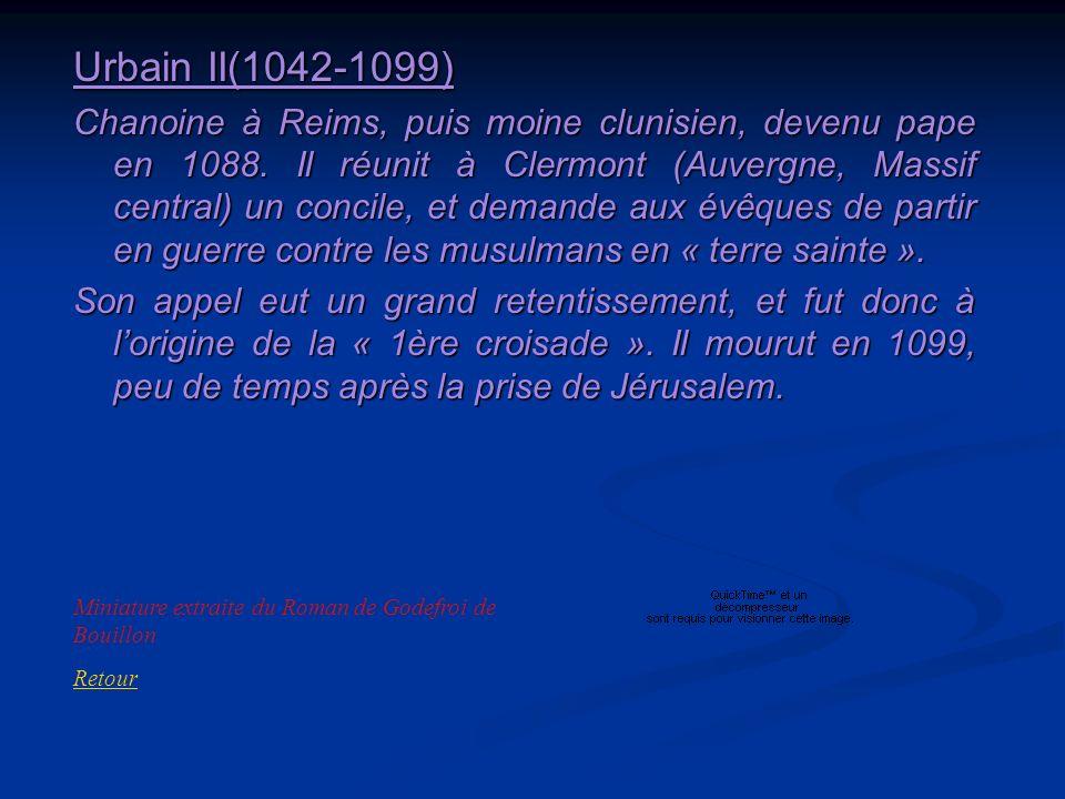 Urbain II(1042-1099)