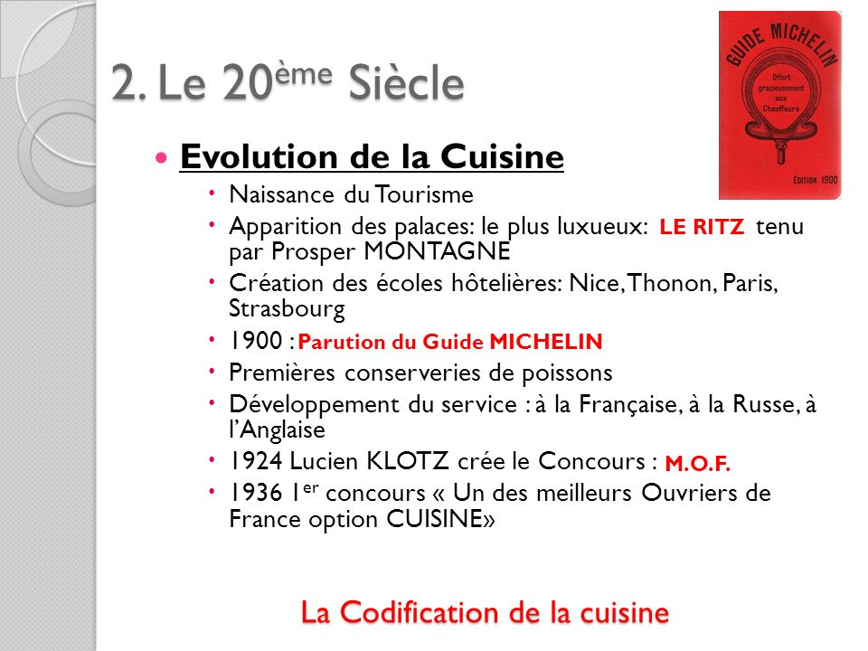 Parution du Guide MICHELIN