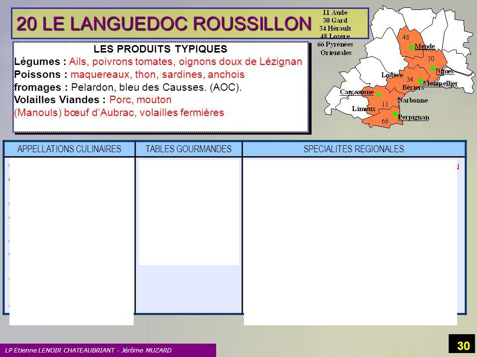 20 LE LANGUEDOC ROUSSILLON