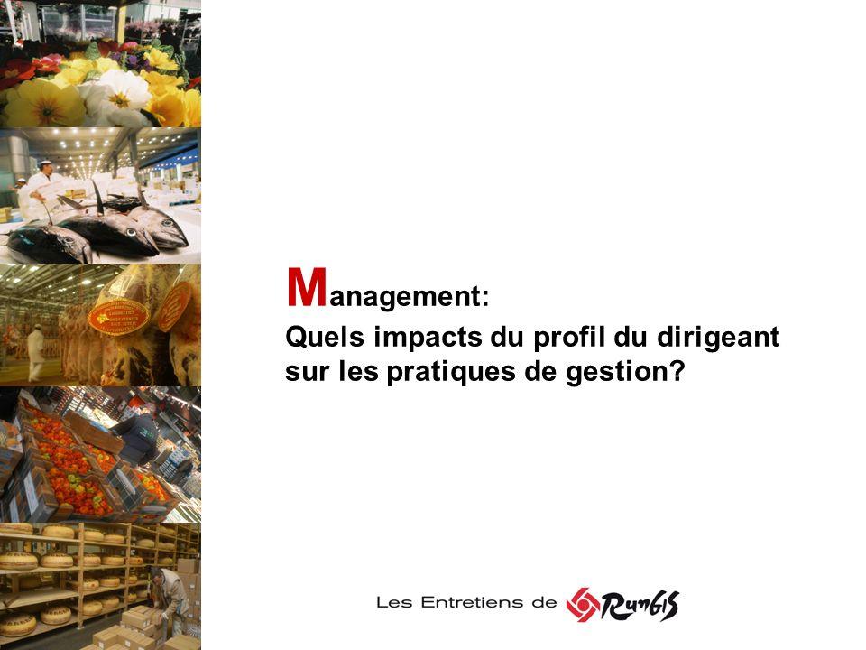Management: Quels impacts du profil du dirigeant sur les pratiques de gestion
