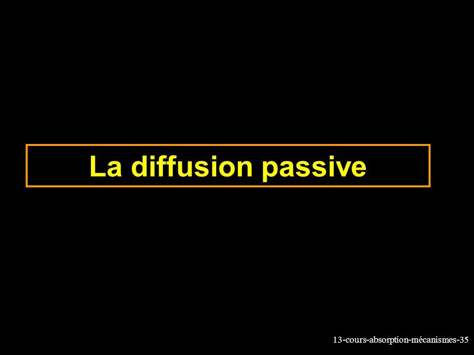 La diffusion passive