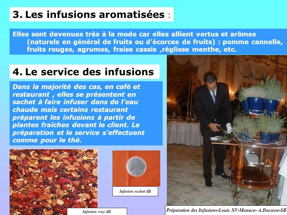 Préparation des Infusions-Louis XV-Monaco- A.Ducasse-SB