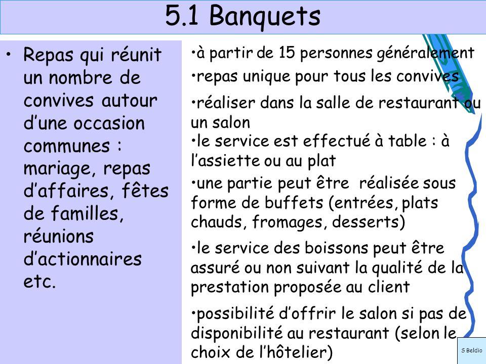 5.1 Banquets