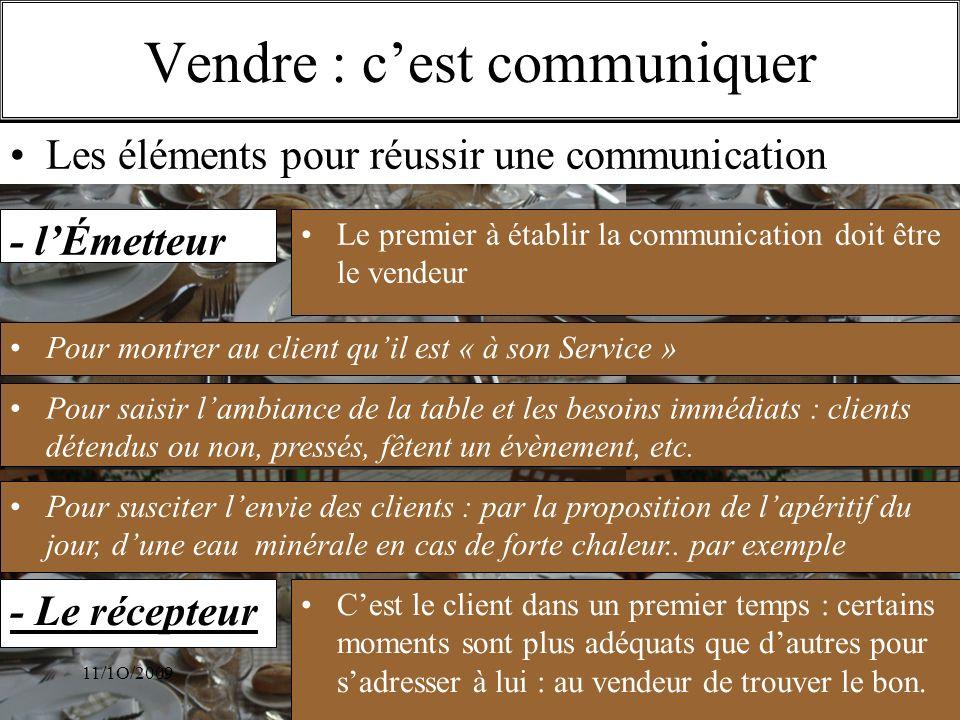 Vendre : c'est communiquer