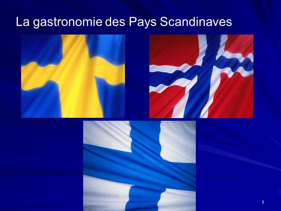 La gastronomie des Pays Scandinaves