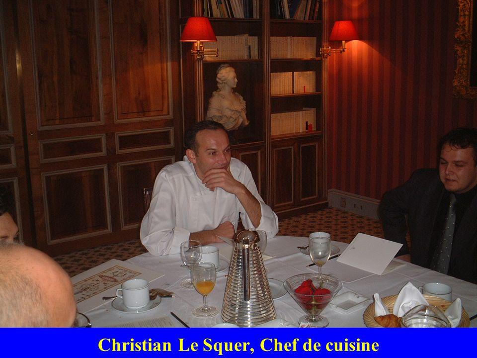 Christian Le Squer, Chef de cuisine
