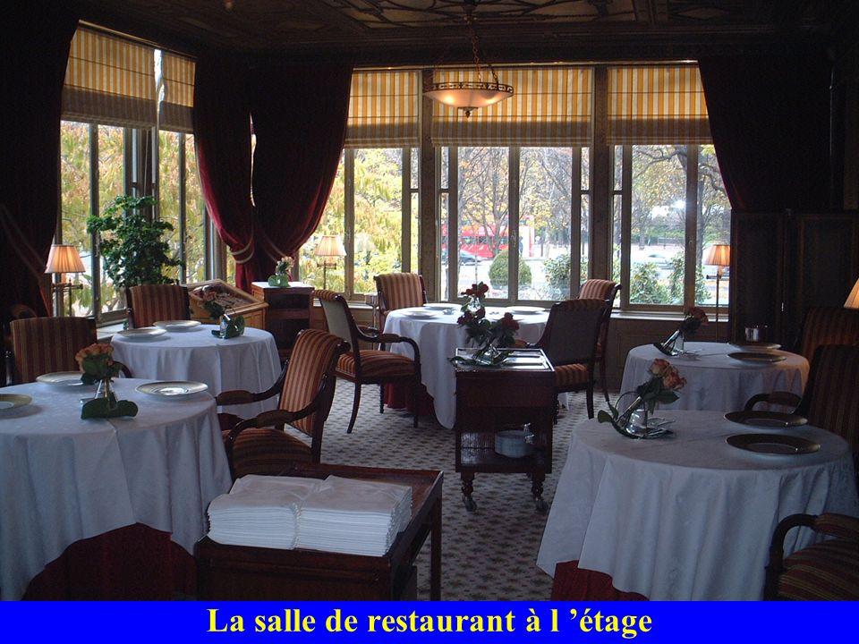 La salle de restaurant à l 'étage
