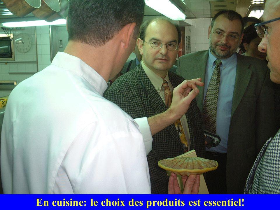 En cuisine: le choix des produits est essentiel!