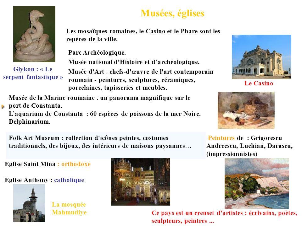 Musées, églises Les mosaïques romaines, le Casino et le Phare sont les repères de la ville. Parc Archéologique.