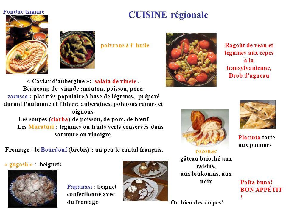 CUISINE régionale Fondue tzigane poivrons à l huile Ragoût de veau et
