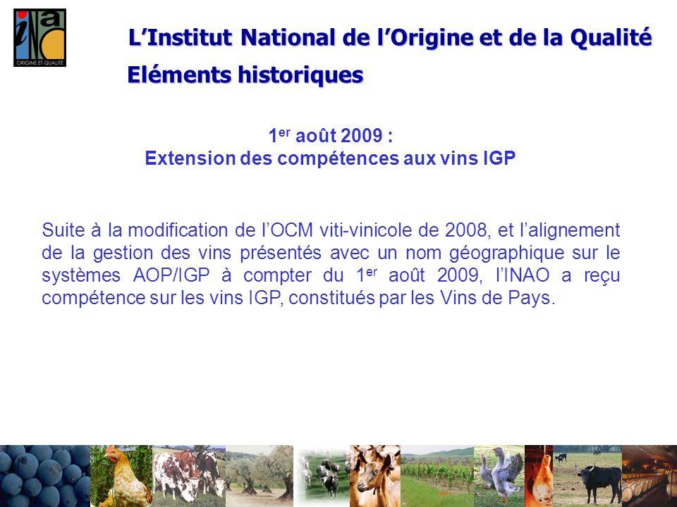 Extension des compétences aux vins IGP