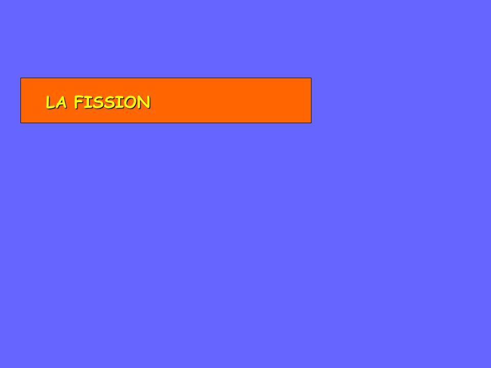 LA FISSION