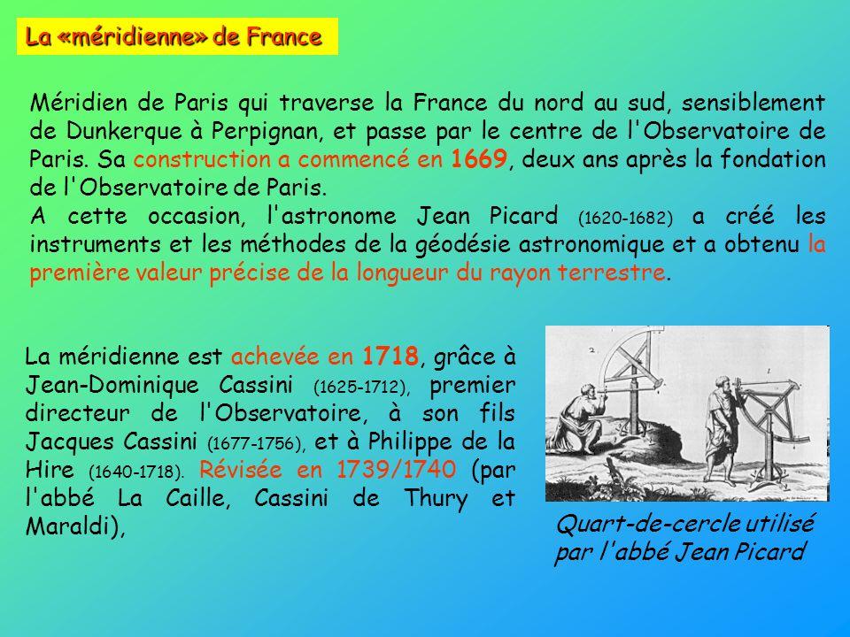 La «méridienne» de France