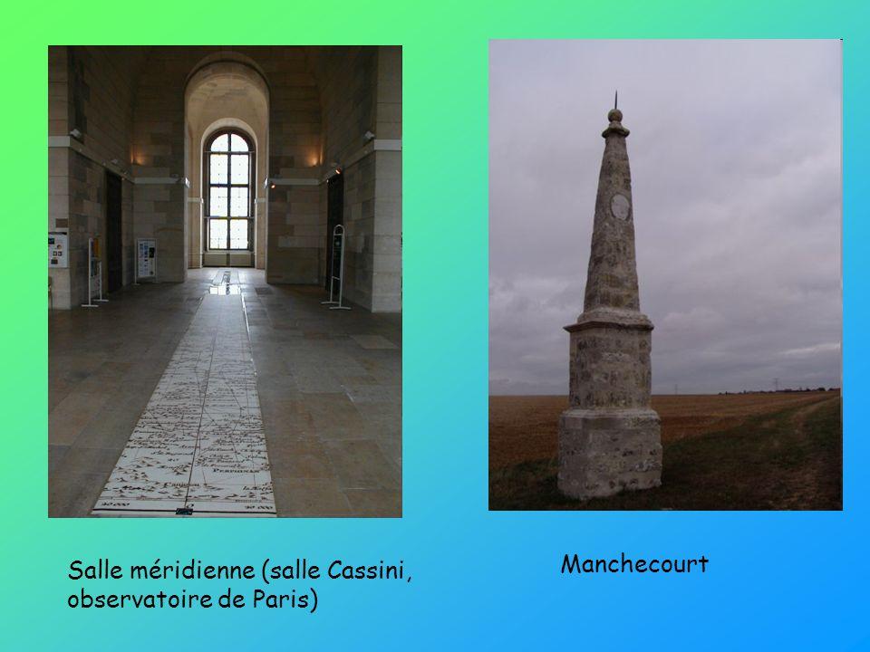 Manchecourt Salle méridienne (salle Cassini, observatoire de Paris)
