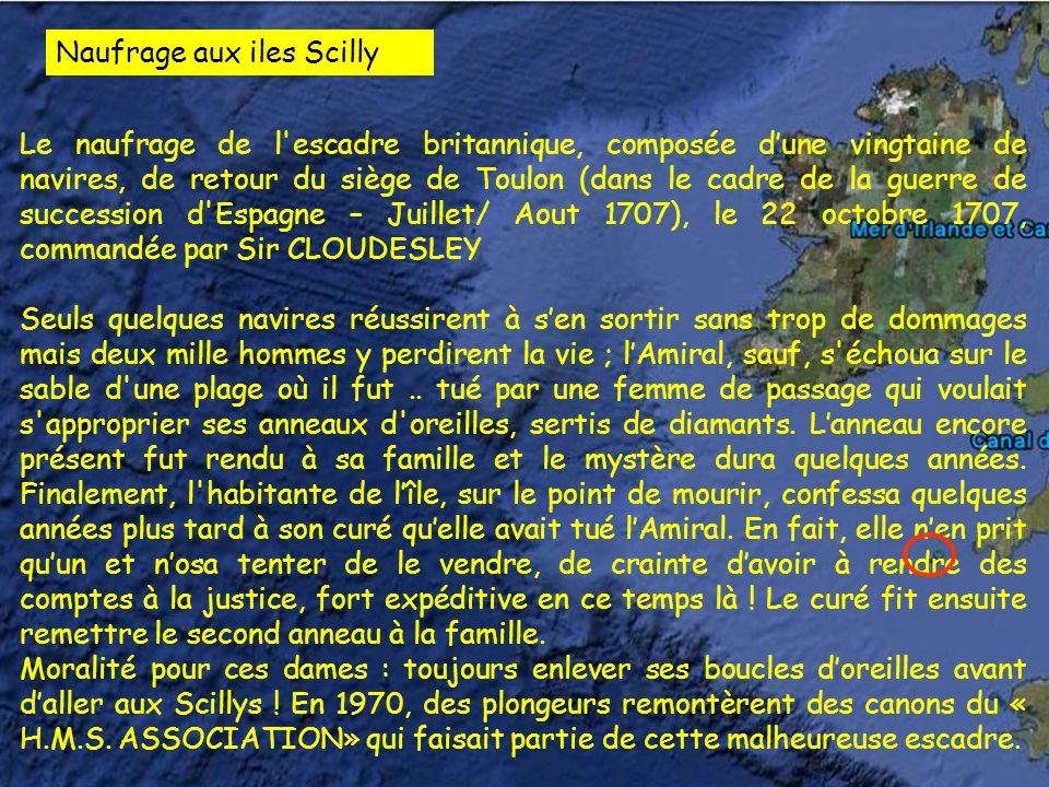 Naufrage aux iles Scilly