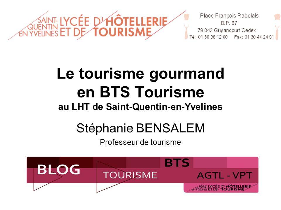 Stéphanie BENSALEM Professeur de tourisme