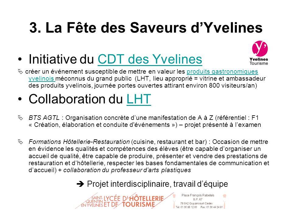 3. La Fête des Saveurs d'Yvelines