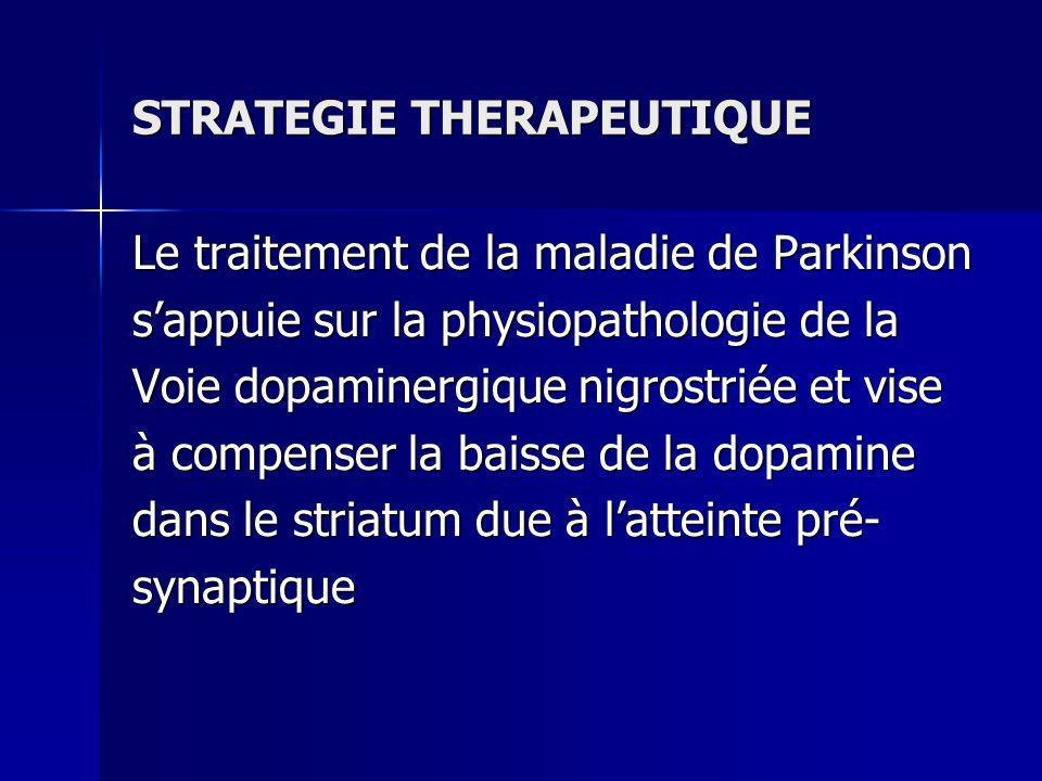 STRATEGIE THERAPEUTIQUE