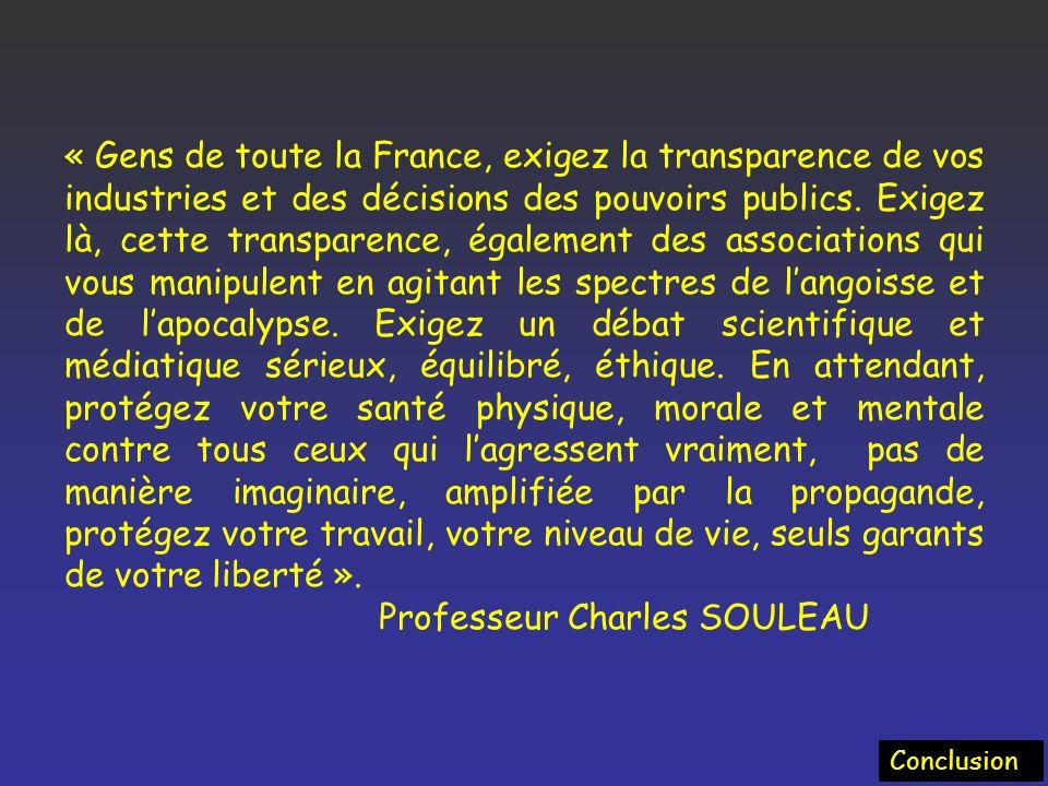 Professeur Charles SOULEAU