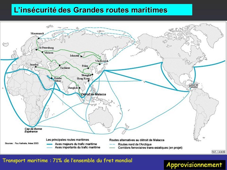 L'insécurité des Grandes routes maritimes