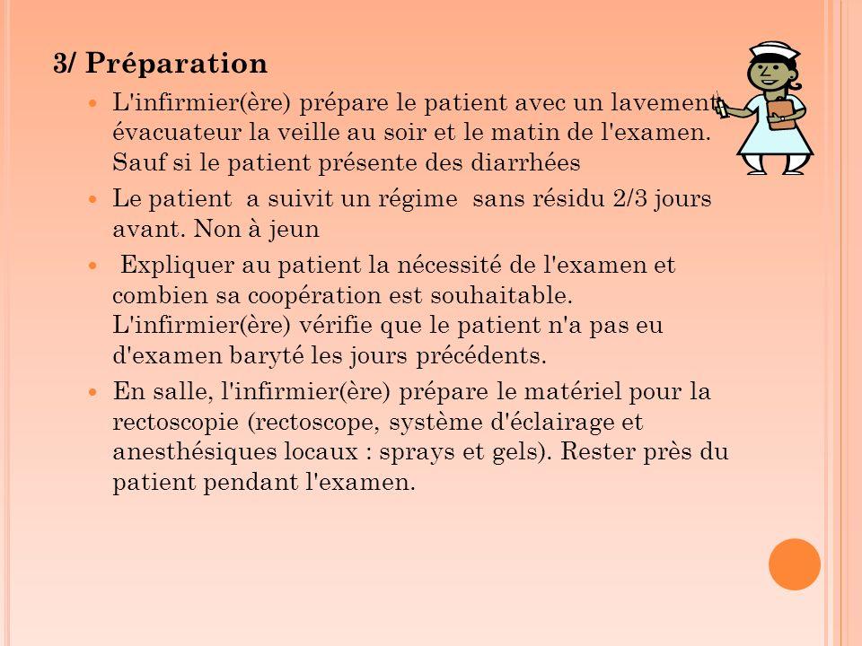 3/ Préparation