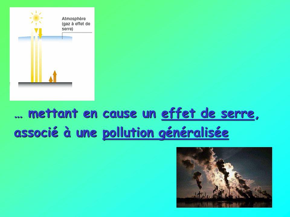 … mettant en cause un effet de serre, associé à une pollution généralisée